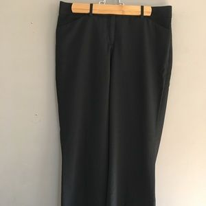 Express black wide leg pants in size 4